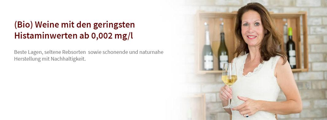 Histamingeprüfte Bio Weine